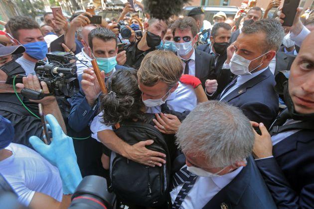 Emmanuel Macron à la foule libanaise : « Je comprends votre colère »