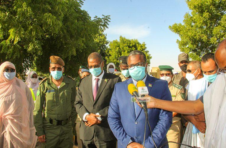 Le wali de Nouakchott nord appelle participer à l'effort national de lutte contre la deuxième vague de Covid 19